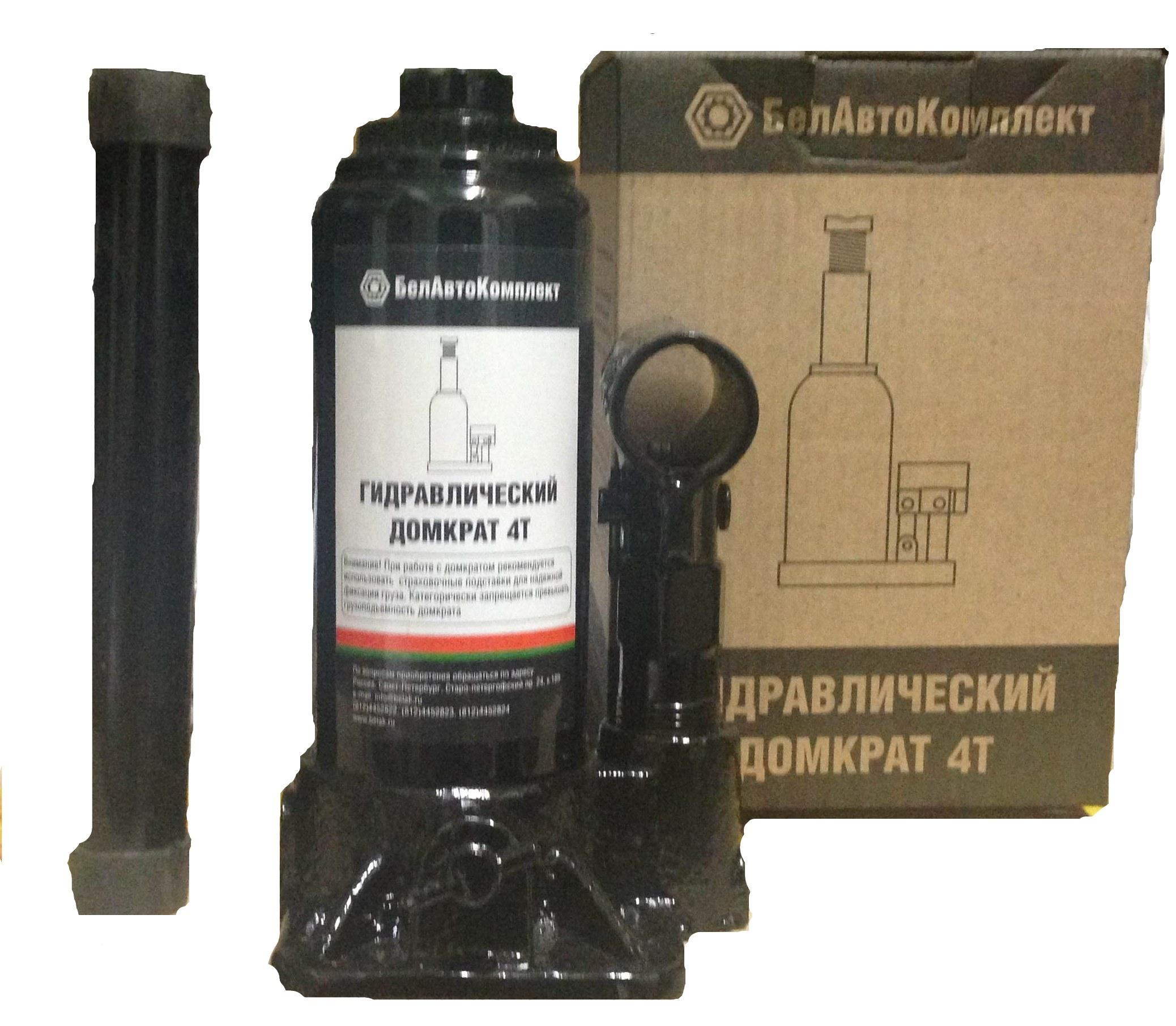 Домкрат БЕЛАВТОКОМПЛЕКТ БАК.00041 домкрат бутылочный белавтокомплект с двумя клапанами 5 т