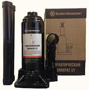Домкрат БЕЛАВТОКОМПЛЕКТ БАК.00043 домкрат бутылочный белавтокомплект с двумя клапанами 5 т