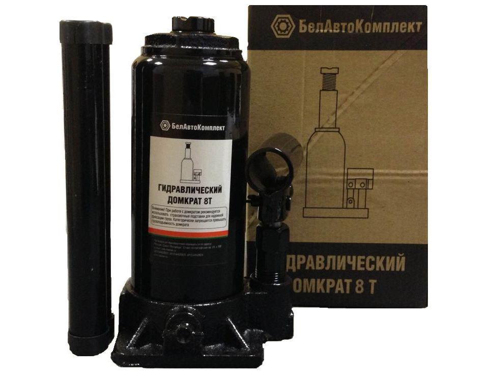 Домкрат БЕЛАВТОКОМПЛЕКТ БАК.00044 домкрат бутылочный белавтокомплект с двумя клапанами 5 т