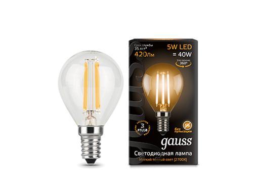 Лампа светодиодная GAUSS 105801105