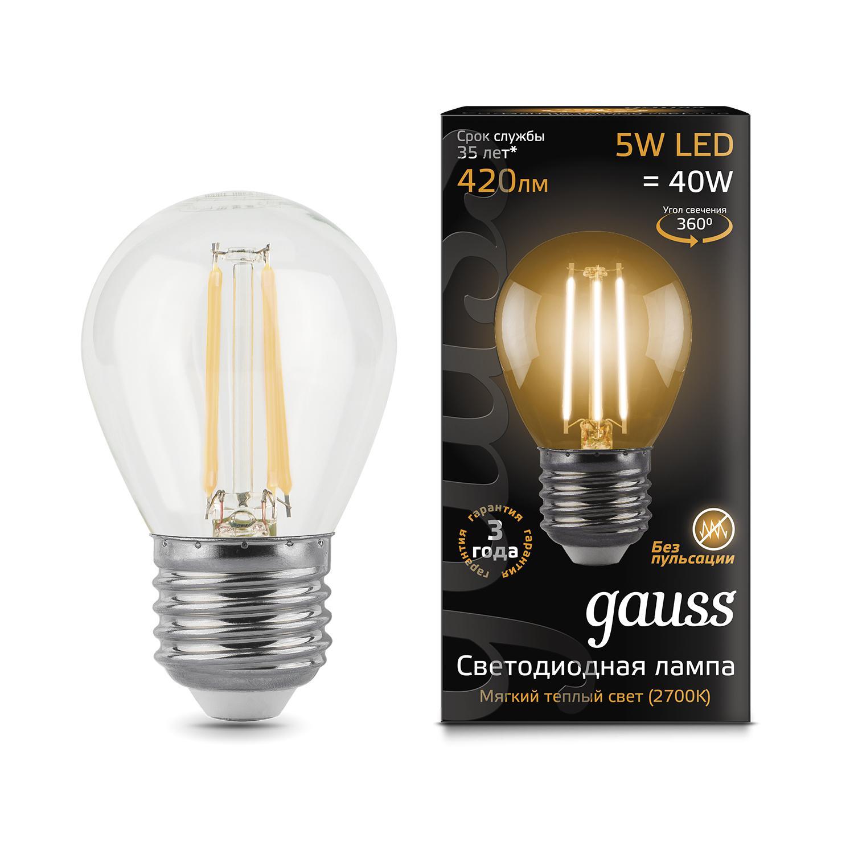 Лампа светодиодная Gauss 105802105