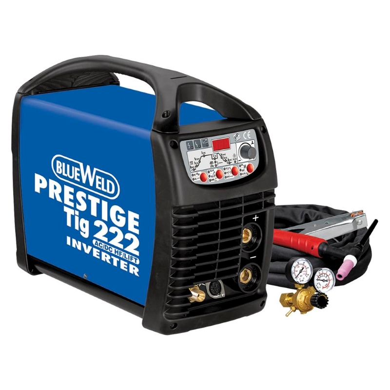 Сварочный аппарат Blue weld Prestige tig 222 ac/dc hf/lift htp argon co2 mig tig flow meter control valve regulator reduced pressure gas flowmeter welding weld flowmeter