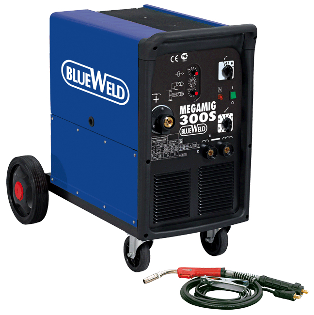 Сварочный полуавтомат Blue weld Megamig 300s сварочный полуавтомат foxweld гранит универсал