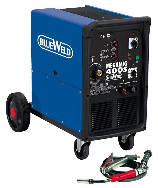 Сварочный полуавтомат Blue weld Megamig 400s сварочный полуавтомат ресанта саипа135