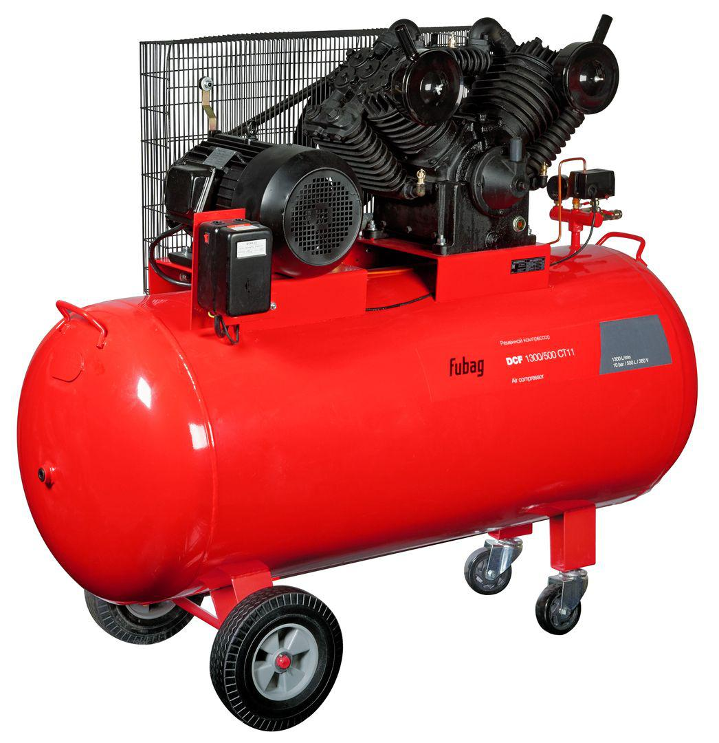 Компрессор Fubag Dcf-1300/500 ct11 скобы для пневмостеплера fubag 1 05х1 25 32мм 5000шт