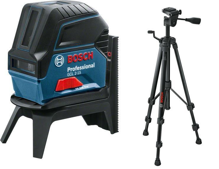 Уровень Bosch Gcl 2-15 + rm1+ крепление + штатив bt150