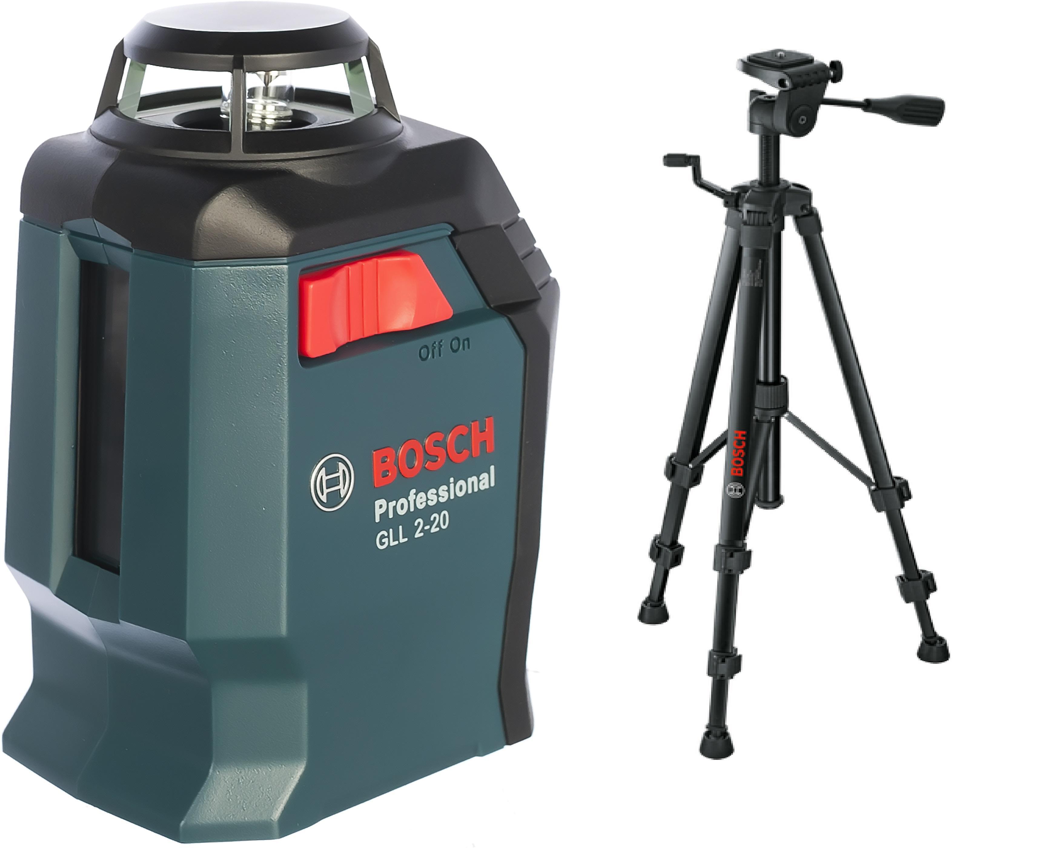 Уровень Bosch Gll 2-20 + bm3 + кейс + штатив bt150 В ПОДАРОК