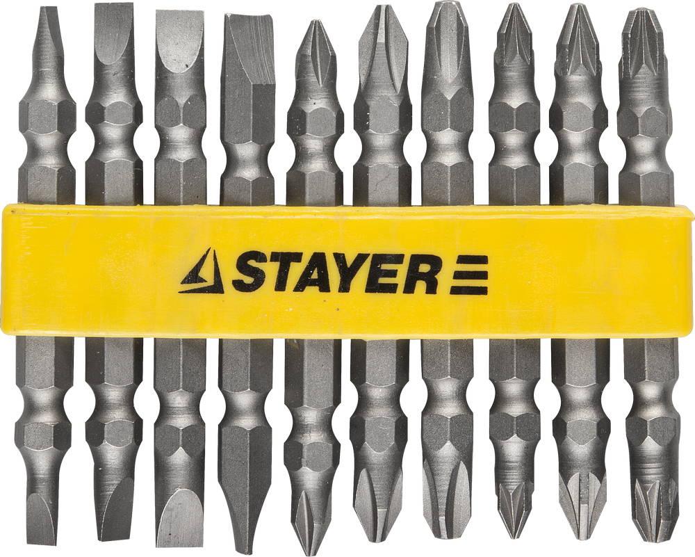 Набор бит Stayer Master 2605-h10_z01 набор сверл stayer master 2950 h6