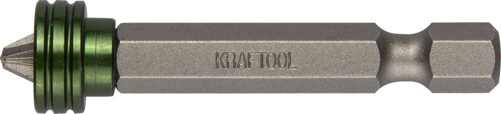 Бита Kraftool ЕХpert 26128-2-50-1 бита торсионная kraftool expert кованая обточенная тип хвостовика e 1 4 ph2 100 мм