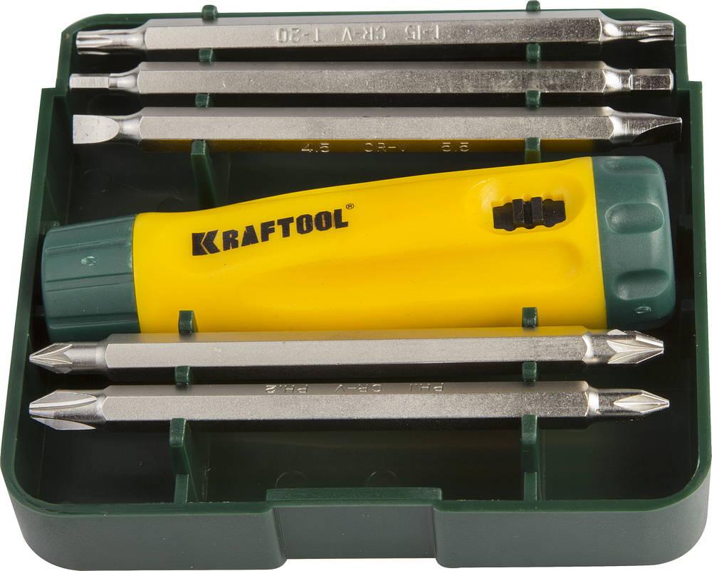 Набор Kraftool 26141-h6 цены