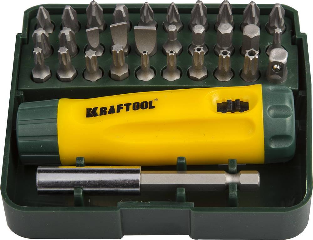 Набор Kraftool 26142-h32 отвертка kraftool 26142 h32