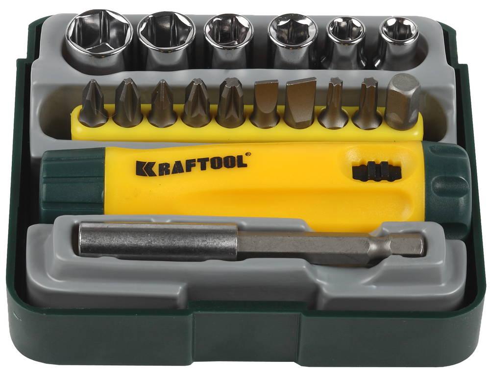 Набор Kraftool Expert 26143-h18 очки защитные kraftool expert 11007