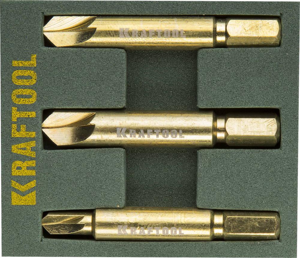 Экстрактор Kraftool 26770-h3 набор губцевых инструментов kraft max 3 штуки kraftool 22011 h3
