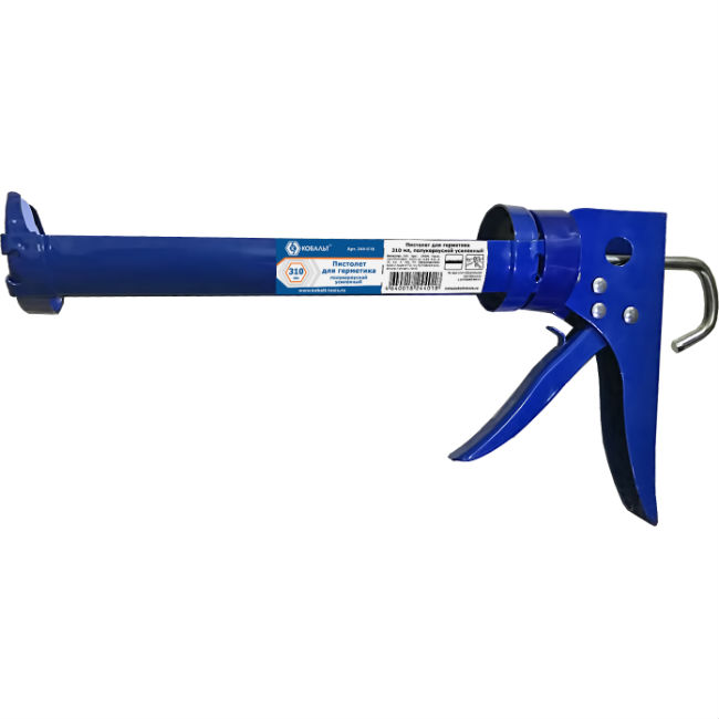 Пистолет для герметика КОБАЛЬТ 244-018 пистолет для герметика sparta 886475