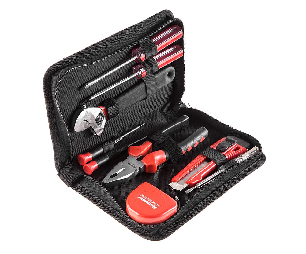 Набор инструментов Hammer 601-035 9 предметов ключ разводной truper pet