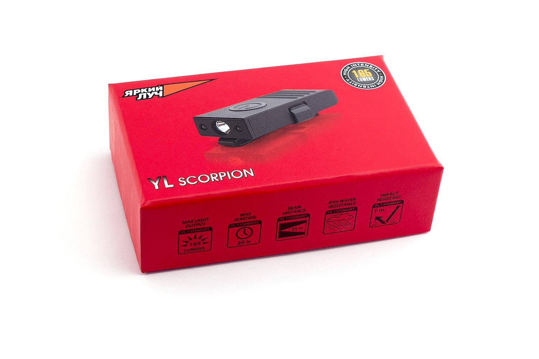 Фото - Фонарь ЯРКИЙ ЛУЧ X8 scorpion внешний аккумулятор pb14x black 14000 мач