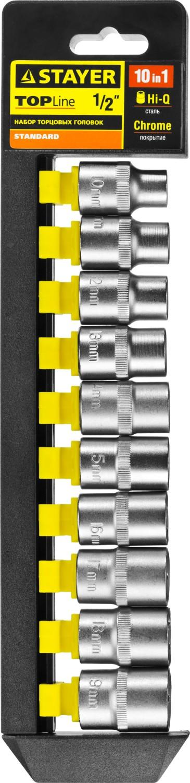 цены на Набор головок Stayer 27755-h10  в интернет-магазинах