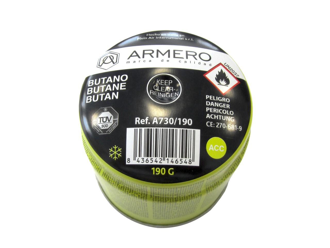 Газовый баллон Armero Ag30-190
