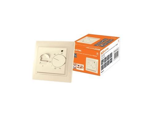 Терморегулятор TDM SQ1814-0131 слоновая кость