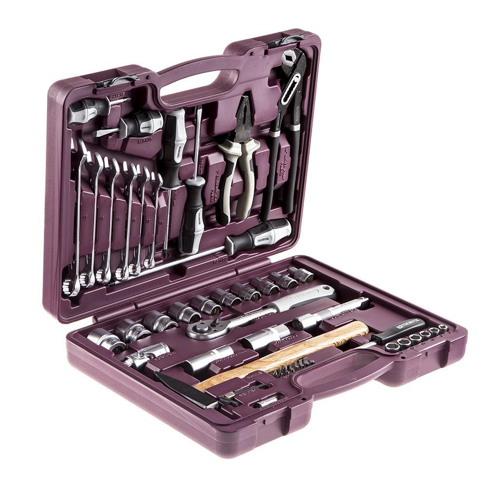 все цены на Набор инструментов Thorvik Uts0056 онлайн