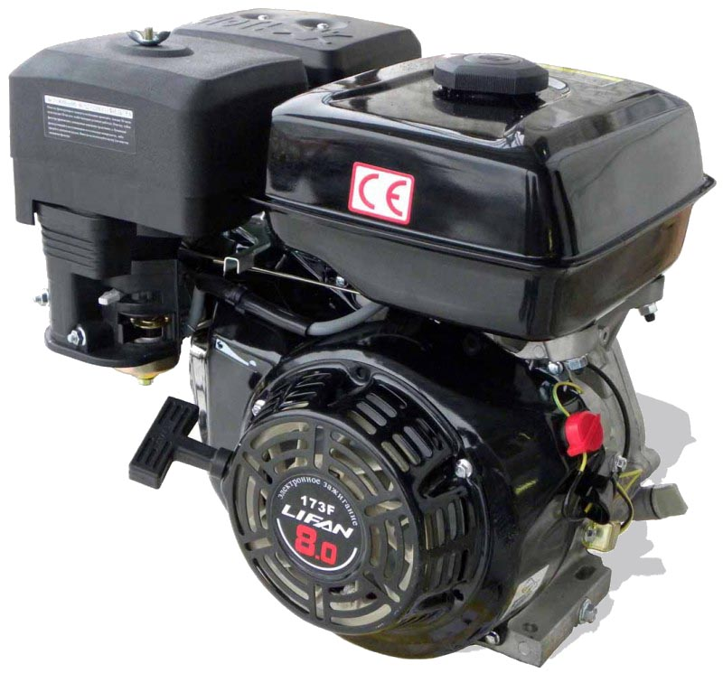 Двигатель Lifan 173f бензиновый генератор автомат lifan 5gf 5a