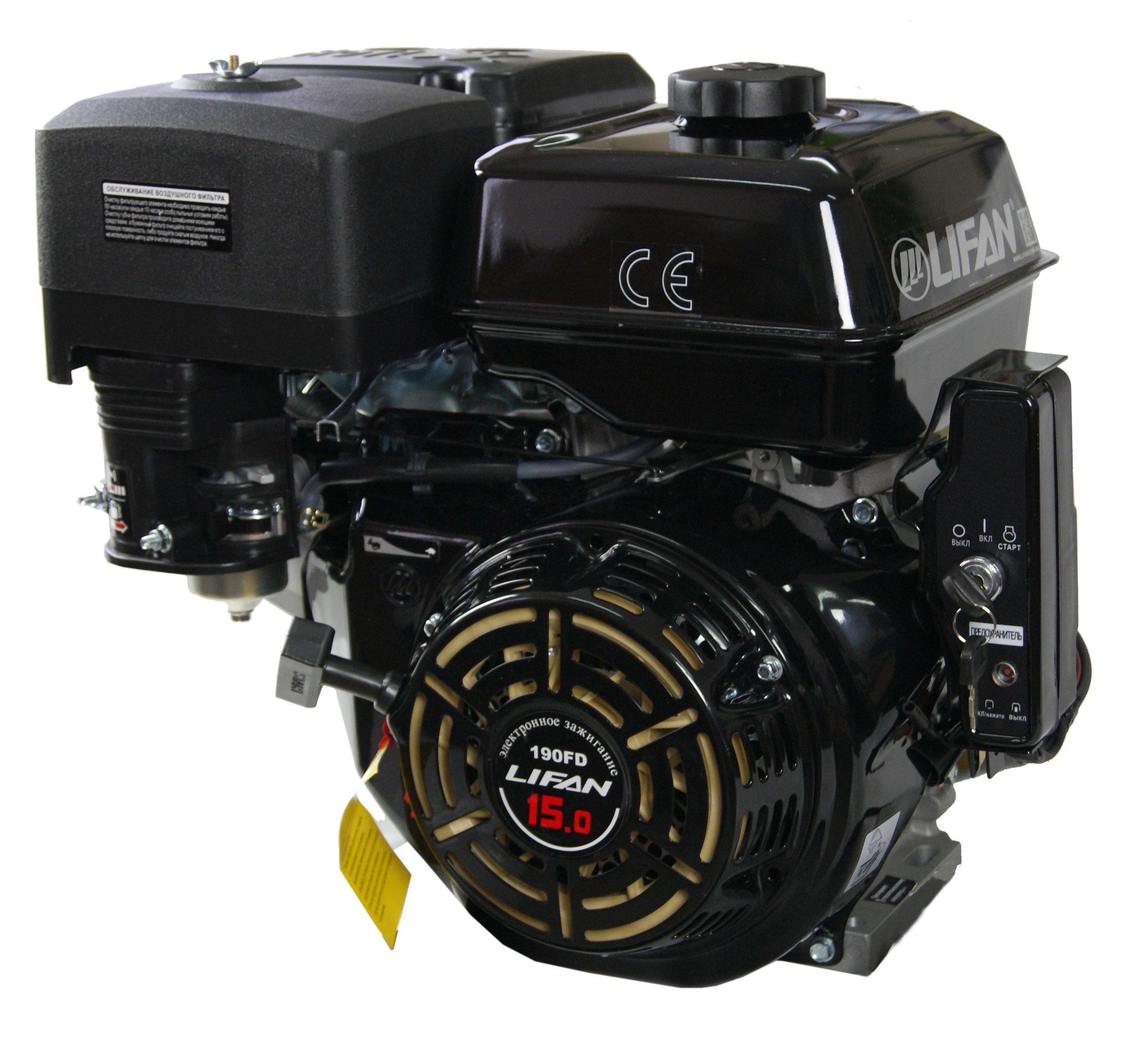 Двигатель Lifan 190fd двигатель lifan 168f 2l