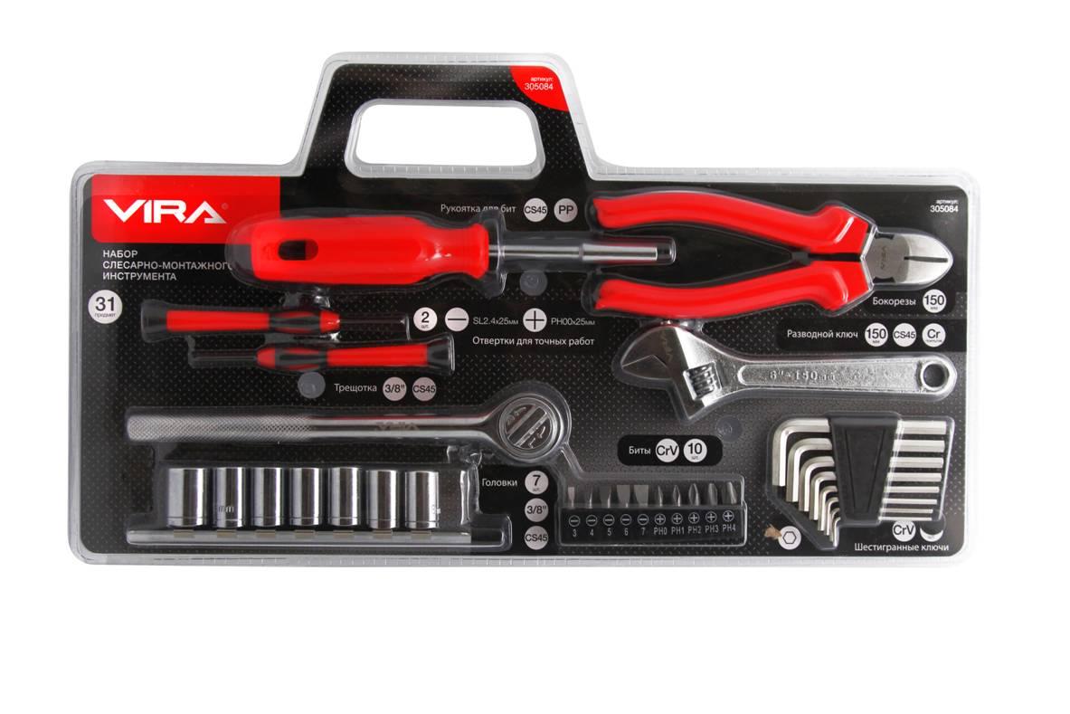 Набор инструментов Vira 305084 бокорезы vira 6 311039