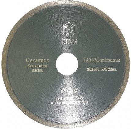 Круг алмазный Diam Ф230x22мм 1a1r ceramics 1.9x5мм круг алмазный diam 1a1r 250 1 6 7 32 25 4 круг алмазный гранит 000243