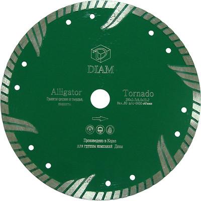 Круг алмазный Diam Ф230x22мм alligator 2.9x8мм диск алмазный diam 150х22 2мм master турбо 000160