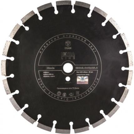 Круг алмазный Diam Ф400x25.4мм blade extra line 3.0x12мм диск алмазный diam 150х22 2мм master турбо 000160