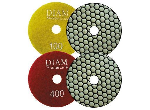 Круг шлифовальный DIAM Ф100мм универсальный (АГШК №200)