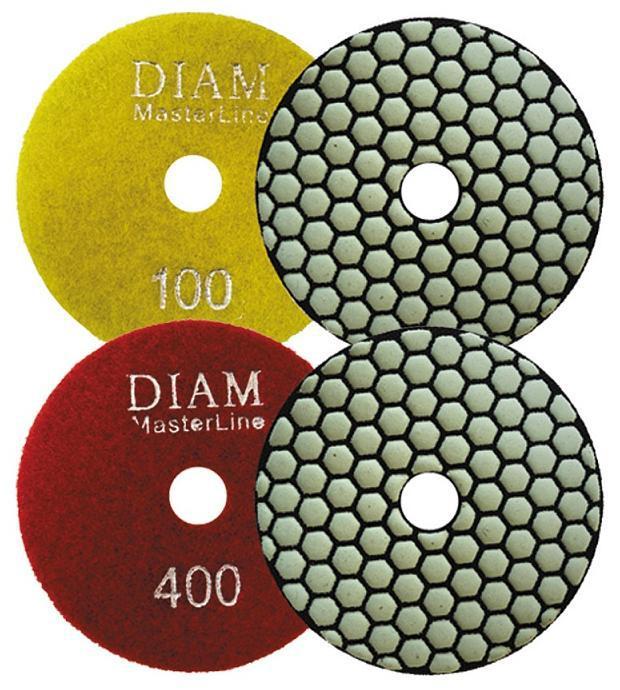 Круг шлифовальный Diam АГШК 100x2.0 №400 диск алмазный diam 150х22 2мм master турбо 000160