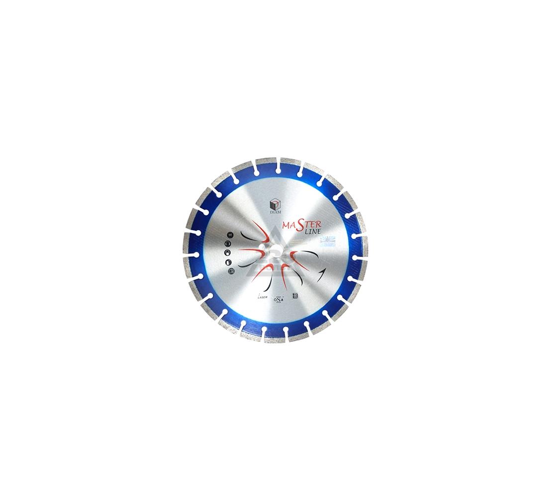 Круг алмазный DIAM Ф150x22мм Master Line 2.0x10мм