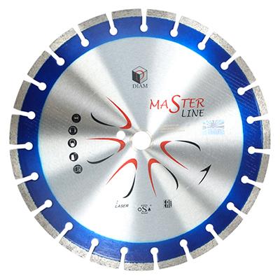 Круг алмазный Diam Ф400x25.4мм master line 3.0x10мм диск алмазный diam 230х22 2мм master турбо 000161