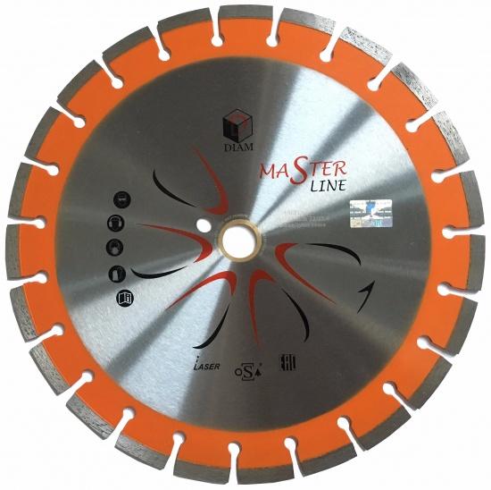 Круг алмазный Diam Ф500x90/50мм master line 3.4x10мм диск алмазный diam 230х22 2мм master турбо 000161