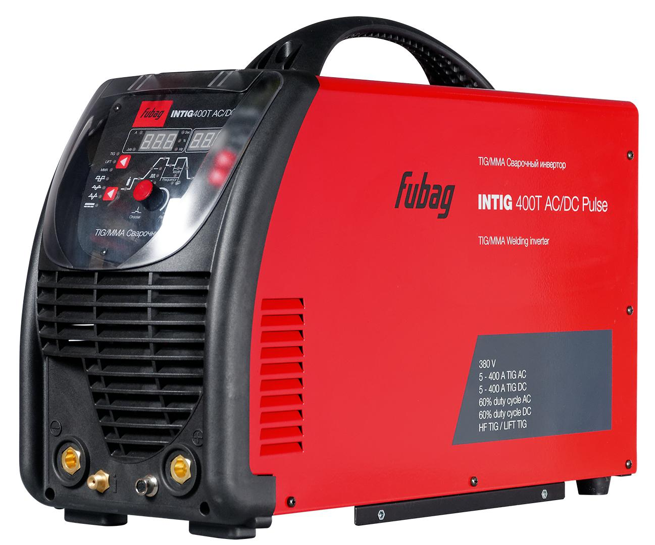 Инвертор Fubag Intig 400 t ac/dc pulse инвертор сварочный fubag intig 200 dc pulse