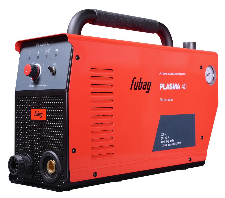Аппарат плазменной резки Fubag Plasma 40 аппарат воздушно плазменный резки кедр cut 40 b