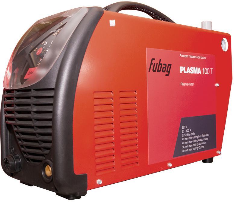 Аппарат плазменной резки Fubag Plasma 100 t аппарат плазменной резки fubag plasma 40 с плазменной горелкой fb p40 6m