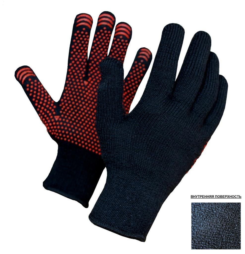 Перчатки НИЖТЕКСТИЛЬ Rus0030 б у станки делать х б перчатки