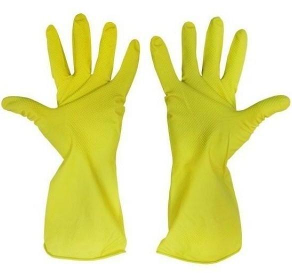 Перчатки ЕВРОХАУС латексные размер перчаток