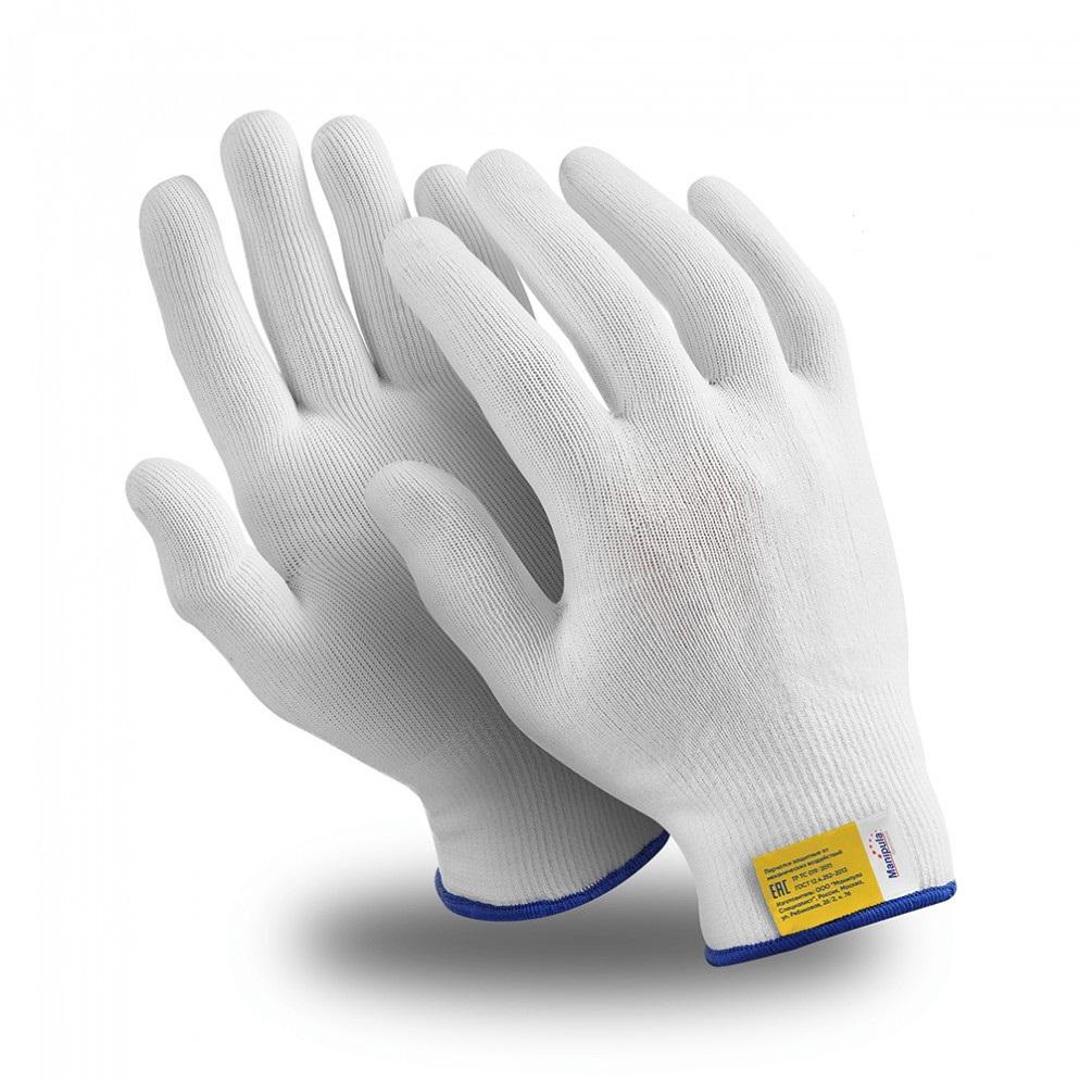 Фото - Перчатки МАНИПУЛА Нейлон перчатки манипула антистатик нейлоновые антистатические белые без пвх