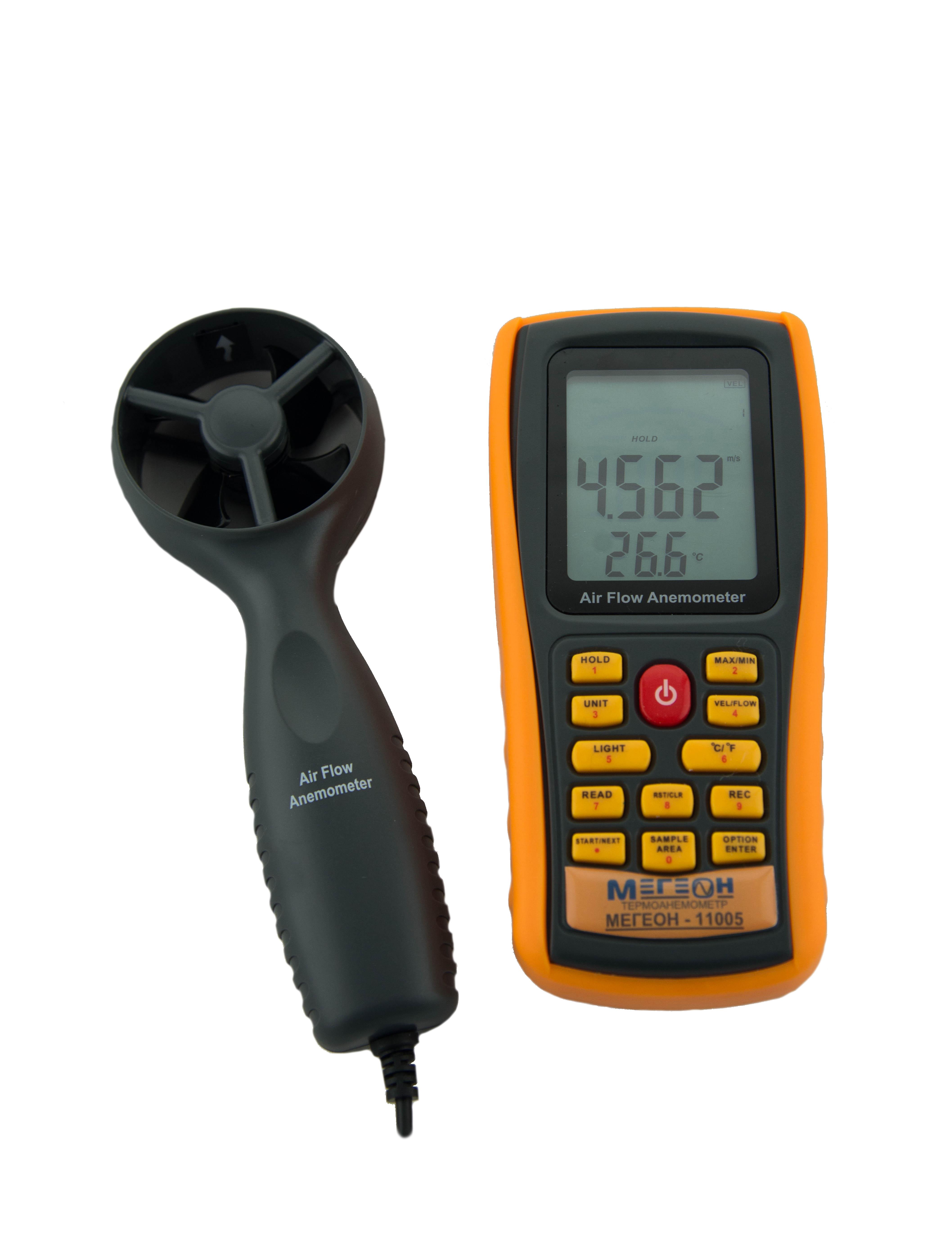 Термоанемометр МЕГЕОН 11005 цена и фото