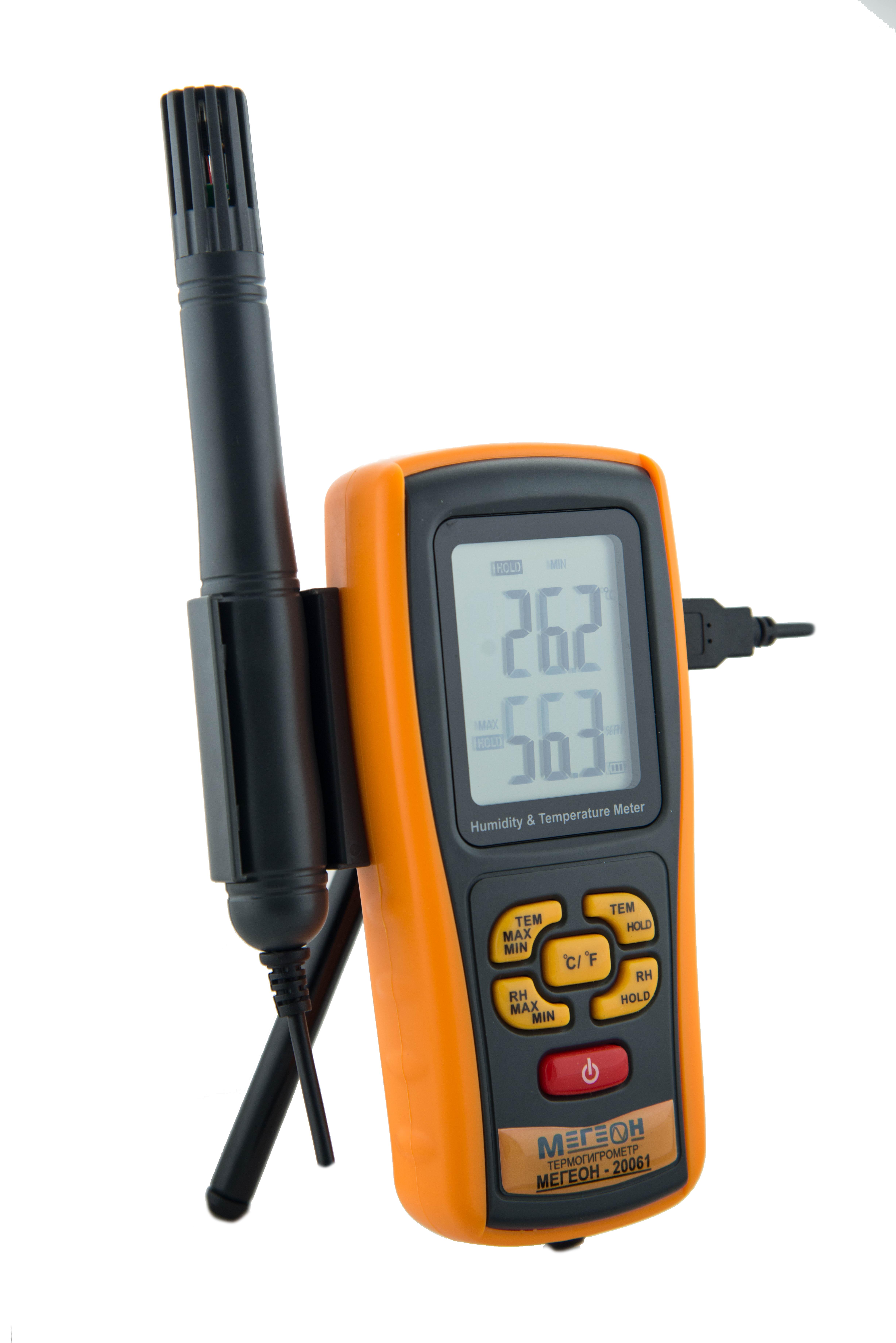 Термогигрометр МЕГЕОН 20061