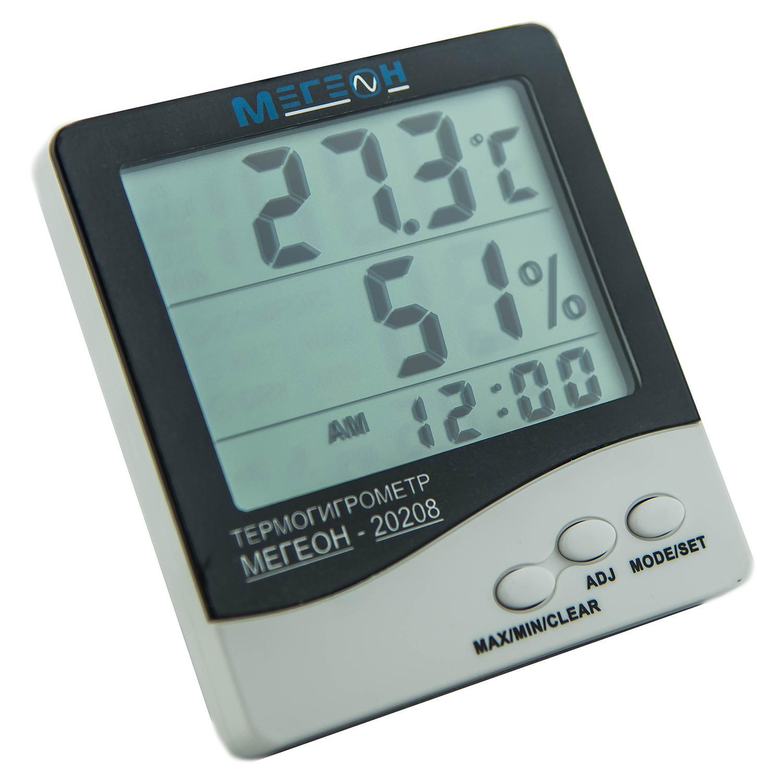 Купить Термогигрометр МЕГЕОН 20208