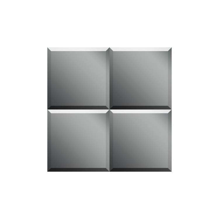 Зеркальная плитка Dubiel vitrum УТ000000863 черная плитка для ванной купить
