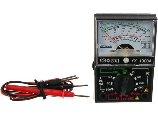 Мультиметр аналоговый ФАZА YX-1000A автомобильный