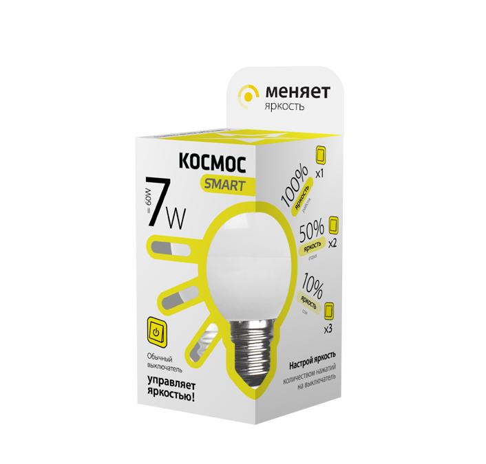 Лампа светодиодная КОСМОС 417278 лампа светодиодная космос 417278
