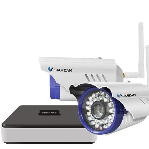 Комплект видеонаблюдения Vstarcam Nvr c15 kit видеонаблюдение