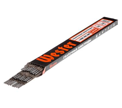 Электроды для сварки WESTER эбОК-46.00, 3.0 мм, 1 кг