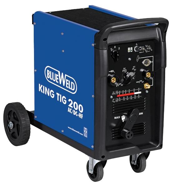Сварочный аппарат Blue weld King tig 200 сварочный аппарат сварог pro tig 200 p dsp w212